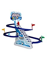 Catterpillar Musical Battery Operated Jolly Penguin's Race Track Game