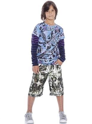 Custo Camiseta Liva Custo (azul / morado)