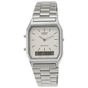 Casio Vintage Series Analog-digital White Dial Men's Watch - AQ-230A-7DMQ (AD03)