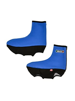 Santini Zapatos Goma Windstopper ® (Azul Marino)