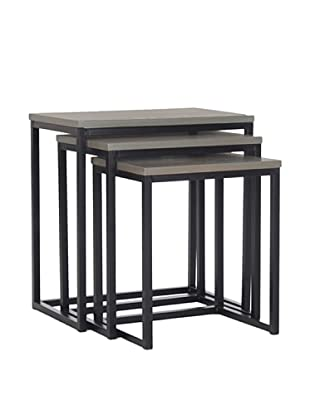 Safavieh Kaleb Stacking Tables, Ash Grey
