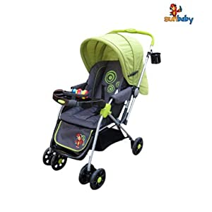 Sunbaby Stroller Green Circle