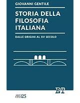 Storia della filosofia italiana dalle origini al XV secolo