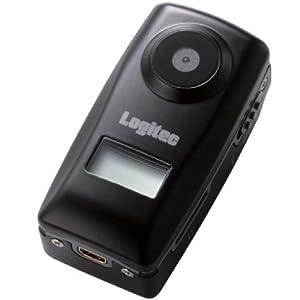 Logitec スポーツ用ビデオカメラ 防水ケース付 LVR-CV01