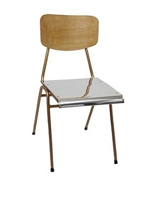 Europe2You Polished Steel School Chair
