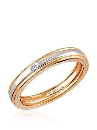 Divas Diamond Anillo Diamante Engagement (Oro Amarillo)