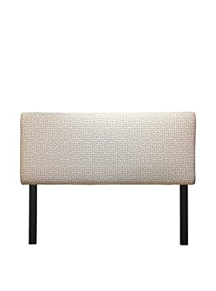 Sole Designs Upholstered Towers Headboard (Grey/White)