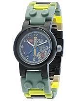 LEGO Kids 8020295 Star Wars Yoda Watch with Link Bracelet and Figurine