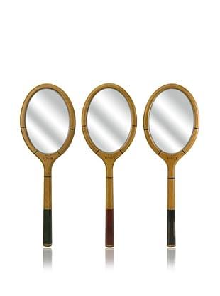 Set of 3  Wilkins Tennis Racquet Mirrors