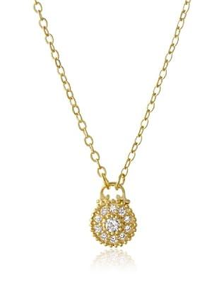 Belargo Golden Round Dial Necklace