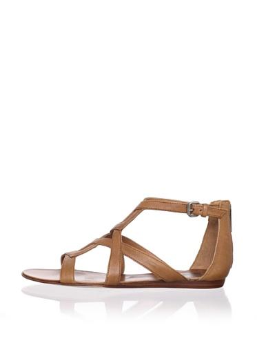 Dolce Vita Women's Ida Sandal (Tan Leather)