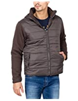 Campus Sutra Olive Mens Jacket(AW15_JK_M_P8_OL_XL)