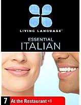 Essential Italian, Lesson 7: At the Restaurant