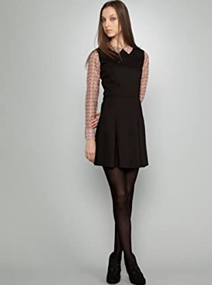 Dolores Promesas Vestido Pelo (negro)
