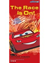 Officially Licensed Disney Pixar Cars Lightning McQueen The Race Is On Beach Towel