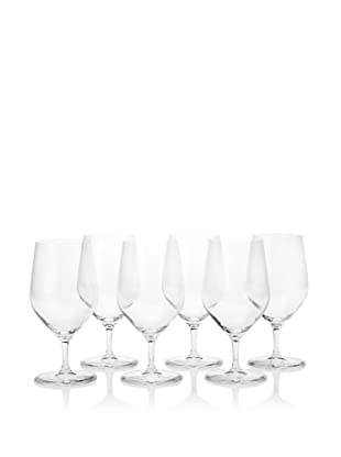 10 Strawberry Street Set of 6 Ultra Series 15-Oz. Water Goblets (Clear)