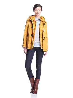 Rainforest Women's Jacket with Down Vest (Mustard)