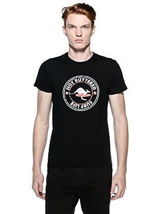 Hot Buttered Camiseta M/C Praga (Negro)