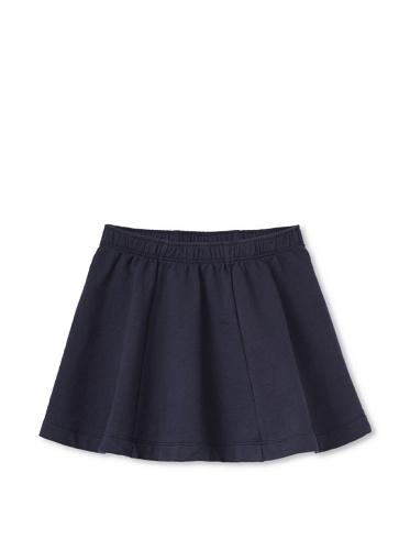 Tea Collection Girl's Solid Skirt (Indigo)
