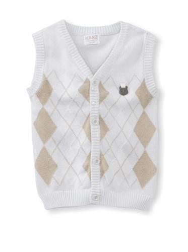 KANZ Baby Argyle Vest (Blue)
