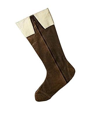 Sage & Co. Zipper Leather Stocking