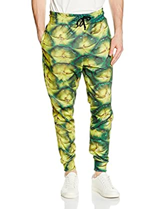 Mr. Gugu & Miss Go Pantalone Felpa Unisex Pineapple
