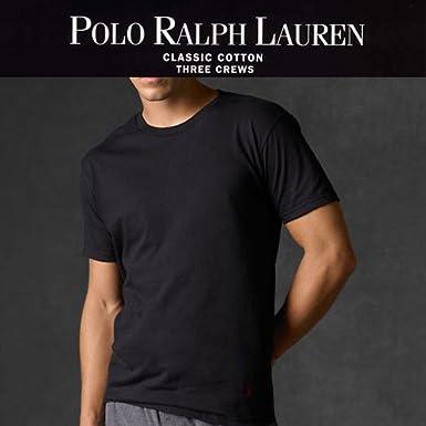 POLO Ralph Lauren メンズ半袖クルーネック ブラック 並行輸入品