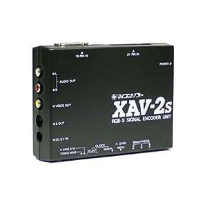 【クリックでお店のこの商品のページへ】電波新聞社 XAV-2S アナログRGP S端子変換ユニット DP3913334