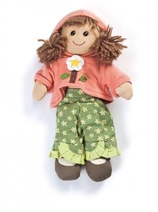 My Doll Stoffpuppe Charlotte (braun/rosa)