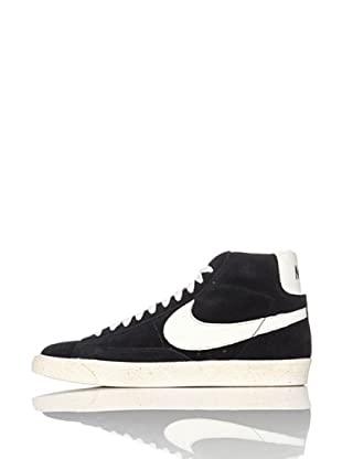Nike Zapatillas Blazer High Vintage (Negro/Blanco)