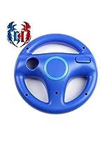 Gh Steering Wheel For Wii/Wii U Racing Games Of Mario Kart, Etc., Universe Blue