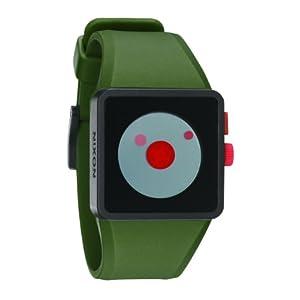 ニクソン]NIXON 腕時計 NEWTON SURPLUS/BLACK/RED NA1161048-00 ユニセックス