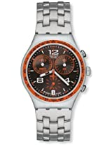 Swatch Analog Black Dial Men's Watch - YCS537G