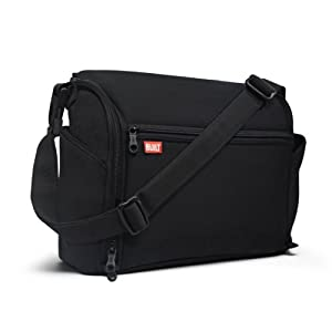 Built The Station Convertible Diaper Bag, Black