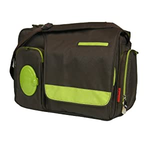 Fisher-Price FastFinder Messenger Diaper Bag with Locket Feature