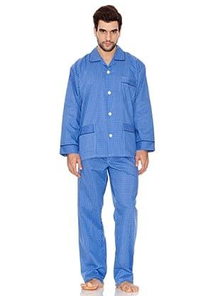 Plajol Pijama Caballero Cuadro Tejano (marino)