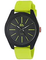 Quiksilver Analog Black Dial Men's Watch - QS-1021-GNBK