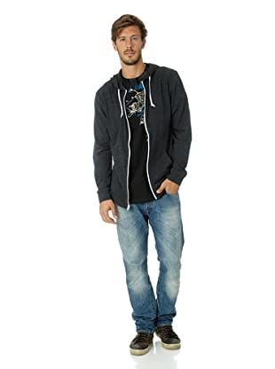 Vans Herren Sweatshirt Core Basics Knit Z (Black Heather)