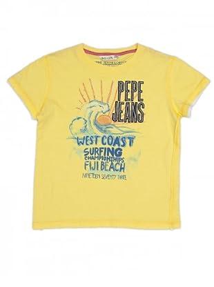 Pepe Jeans Kids T-Shirt Elliot (Gelb)