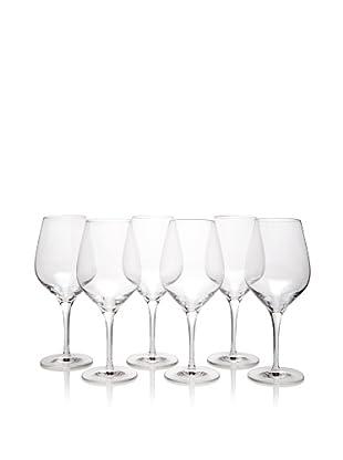 Stölzle Set of 6 Exquisit Red Wine Glasses, 17-Ounce