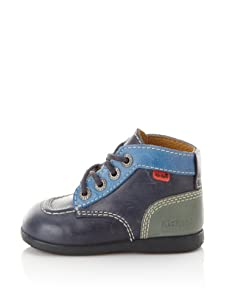 Kickers Kid's Babystar-L Boot (Infant/Toddler) (Blue)