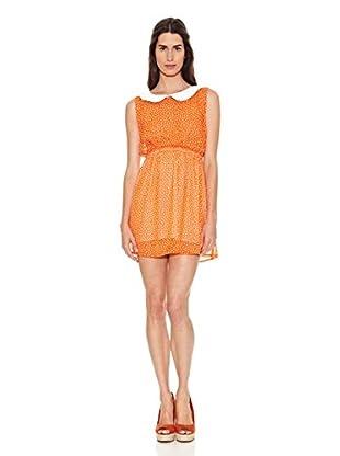 Azura Vestido Fiorella (Naranja)