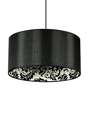 De-sign Lights Pendelleuchte Saparato schwarz/mehrfarbig