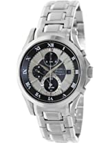 Seiko Chronograph Multi-Color Dial Men's Watch - SNAF17P1