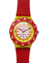 Maxima Analog White Dial Children's Watch - 04475PPKW