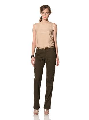 Christopher Blue Women's Prescott Cargo Pant (Army Surplus)