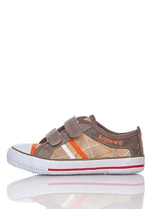 Billowy Zapatillas Velcros (Beige)