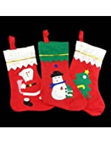 Large Size Christmas Stocking Bags Gift Bags Xmas Tree Decoration
