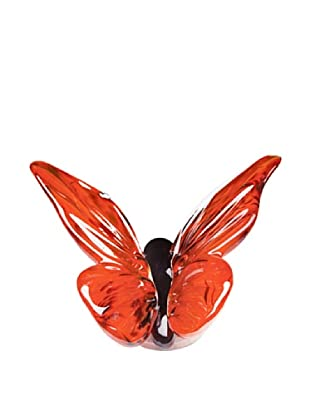 Dynasty Gallery Hand-Made Glass Butterfly