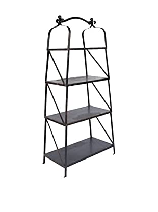 Napa Home and Garden Lobby Etagere, Black